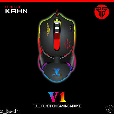 Adjustable 2400DPI 6D Buttons Optical Wired Gaming Game Mice Mouse For Laptop PC