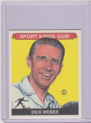 Awesome Rare 2012 Sport Kings Dick Weber Mini Bowling Card #224 ~ Pba Legend