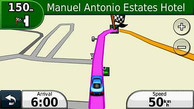 Costa Rica compatible navigation map set for Garmin GPS. The best available.