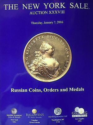 Russian Coins, Orders & Medals - Auction Catalog