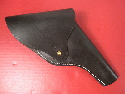 Vietnam Era US Army Leather Flap Holster for .38 S&W Victory Revolver - Repro