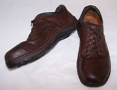 Red Wing Steel Toe Oxford Shoes Brown Leather 8 D Men's