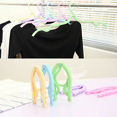 Folding Clothes Hanger Anti Skid Universal Multifunctional Rack Home Travel Use