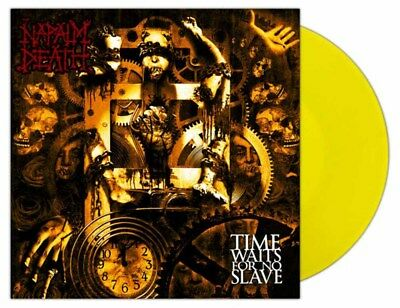 NAPALM DEATH - Time Waits For No Slave  LP  YELLOW
