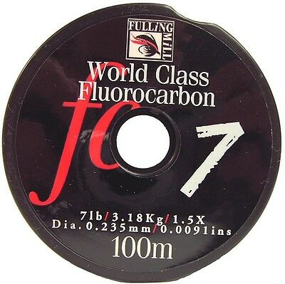 Fulling Mill NEW Fluorocarbon for Fly Fishing 100m
