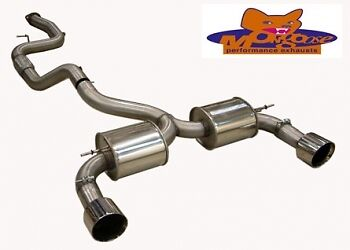 Mongoose Cat Back Exhaust System -  Section 59 (Ford Focus ST225)