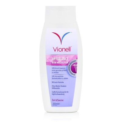 Vionell Intim Waschlotion pH Balance Soft & Sensitive 250ml (1er Pack)