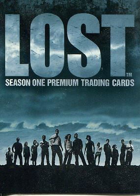 Inkworks Lost Season 1 Complete 90 Card Base Set