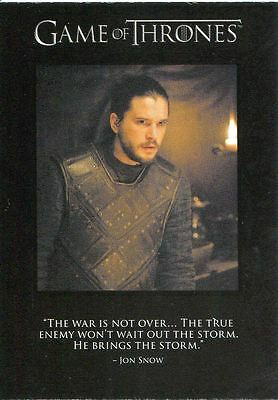 Game Of Thrones Season 6 Quotable Game Of Thrones Chase Card Q58