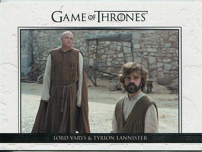 Game Of Thrones Season 6 Relationships Chase Card DL31 Lord Varys & Tyrion Lan