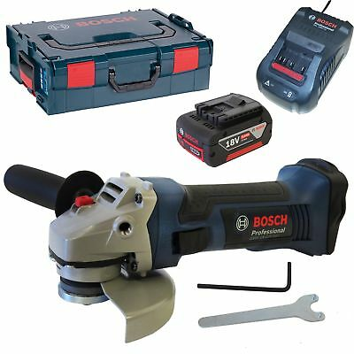 bosch gws18 125v li pro 18v cordless angle grinder 1 x 5. Black Bedroom Furniture Sets. Home Design Ideas