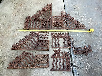 Vintage Antique Cast Iron Lace Work