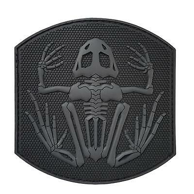 US navy seals DEVGRU frogman PVC 3D ACU morale bone frog subdued hook patch