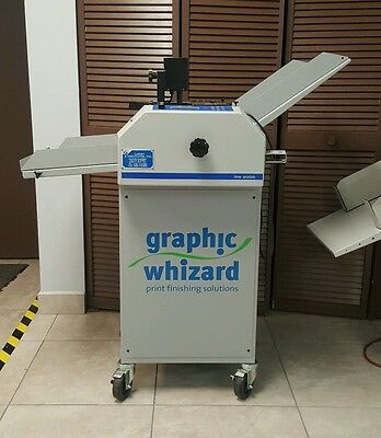 Graphic Whizard GW 6000 Numbering/Perforating/Scoring/Slitting Count Morgana