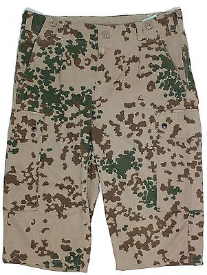 GERMAN ARMY COMBAT SHORTS / SHORT TROUSERS in DESERT TROPENTARN CAMO