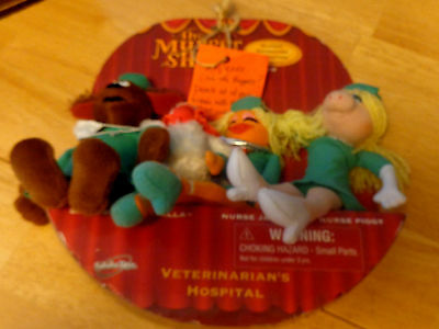 The Muppet show collectible Vet hospital / new