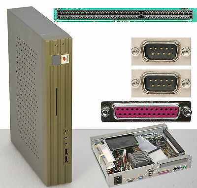 800 MHz eSESIX WLVI01 COMPUTER FÜR MS-DOS WIN98 RS-232 ISA 40GB HDD TC200-40_800