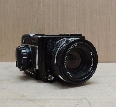 Mamiya M645 1000s Camera Body w/Mamiya Sekor C 70mm F/2.8 from Japan #138138