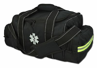 Lightning X Large EMT Medic First Responder EMS Trauma Jump Bag w/ Dividers 30BK