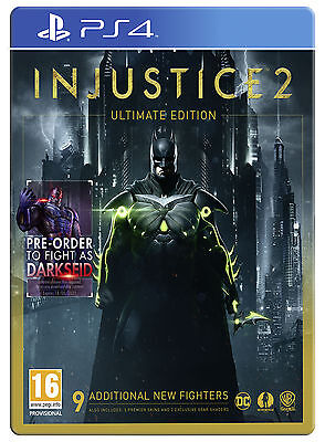 Injustice 2: Ultimate Edition Steelbook (PS4) [New Game]