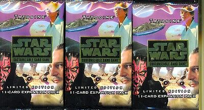 Decipher 3  Boosters Star Wars Tatooine