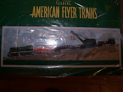 American Flyer # 49613 Southern Work Train NIB w original shipping box as well.