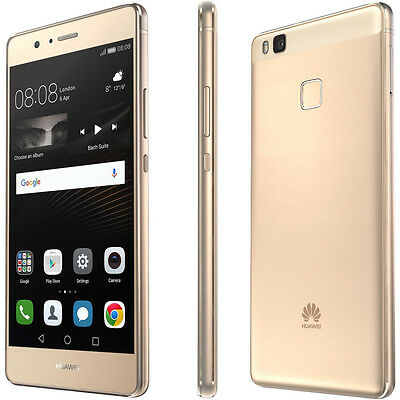Huawei P9 Lite VNS-L31 Gold 16GB 4G LTE 3GB Dual Sim Unlocked Android Smartphone