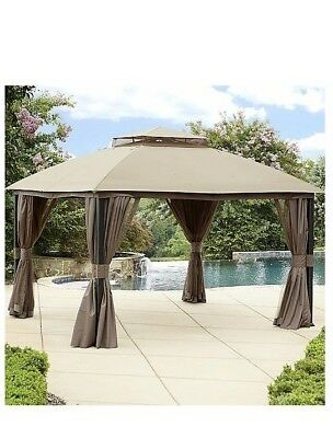 Garden Oasis Replacement Canopy Only For Privacy Gazebo 56688 NEW