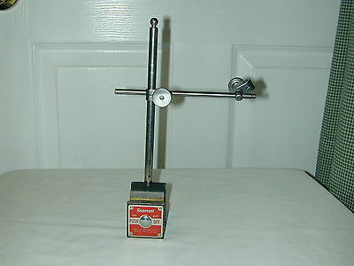 Starrett #657Aa Magnetic Base With Post, Arm And Sungs