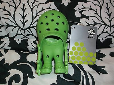 NWT Crocs Lime Green Croslite Guy