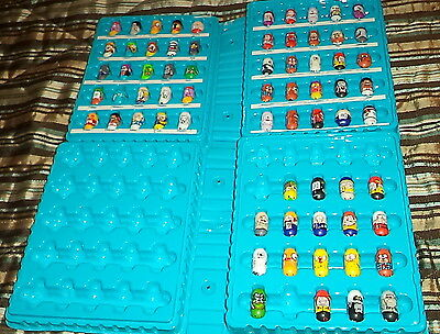 Large Lot of Mighty Beanz w/ 2 Cases & 68 Assorted Beanz