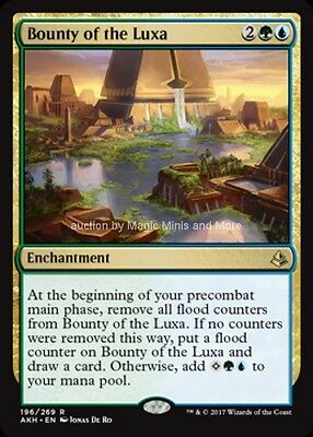 Amonkhet ~ BOUNTY OF THE LUXA rare x 4  Magic the Gathering card