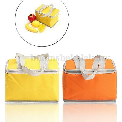 Lunch Box Meal Picnic Insulated Thermal Cooler Bag Wine Carry Tote Travel Camp