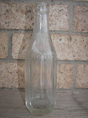 Old John Harvilla Registered, Minersville, Pennsylvania Glass Soda Bottle