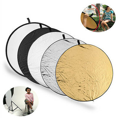 5 in1 Photography Studio Collapsible Multi Disc Photo Light Reflector Outdoor
