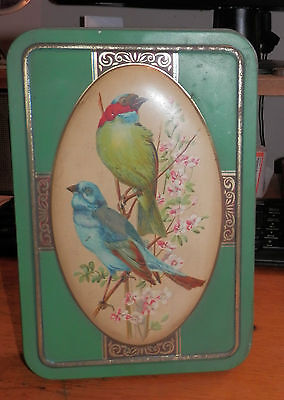 Old / Antique / Vintage Chiltonian Birds Biscuit Tin