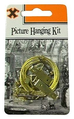 X-Hook Picture Hanging Kit - 16 Piece Plus Picture Wire