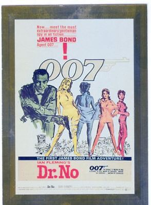James Bond Connoisseurs Collection Volume 1 Metalworks Poster Chase Card P01