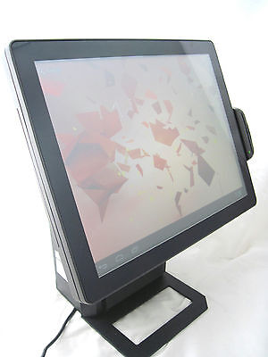 """POS ZQ-A1088 Android 15"""" All in One Touchscreen POS Terminal Printer Card Reader"""