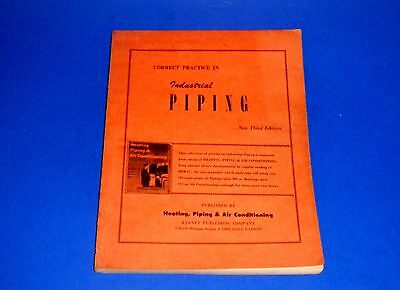"""""""Correct Practice In Industrial Piping"""" 3rd edition"""