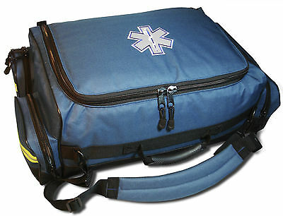 Emt Ems Medical Responder First Aid Medic Bag Modular Oxygen Trauma Mb65 Blue