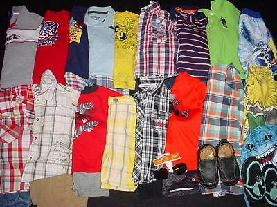 USED BABY BOY TODDER 24 2T MONTHS SPRING SUMMER CLOTHES LOT FreeShipping