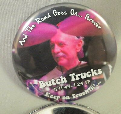 Wholesale Lot Of 22 The Allman Brothers Butch Trucks Wanee Buttons Photo Drum Us
