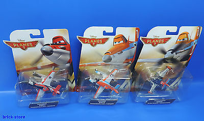 Mattel Disney Planes 2 / 3er Set /  Dusty