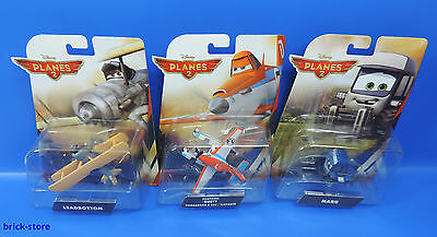 Mattel Disney Planes 2 / 3er Set / Leadbottom,Maru ,Pontoon Dusty