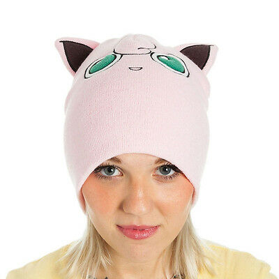 Pokemon - Jigglypuff with Ears - Beanie - One Size - Pink