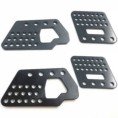 Alum Front & Rear Shock Suspension Bracket Mount For RC 1/10 Axial Wraith Cars