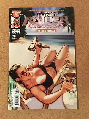 Top Cow Lara Croft TOMB RAIDER #50 ADAM HUGHES Cover Art Final Issue VF/NM