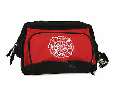 Firefighter Shift Duty Personal Toiletry Wide Mouth Gear Kit Fire Man Bag Fb15