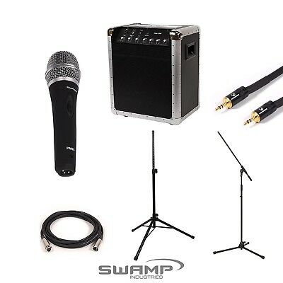 SWAMP Portable PA System Package for Announcers and MCs